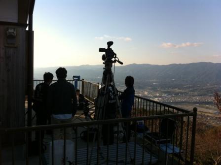 国城山からの景色 ちゃぶ台ロケ