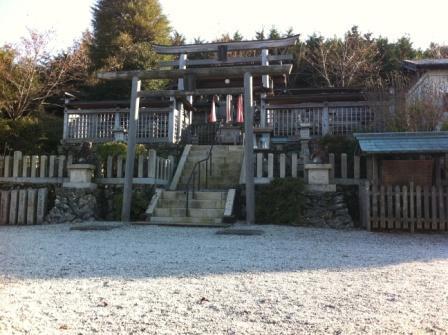 和歌山県橋本市 国城神社