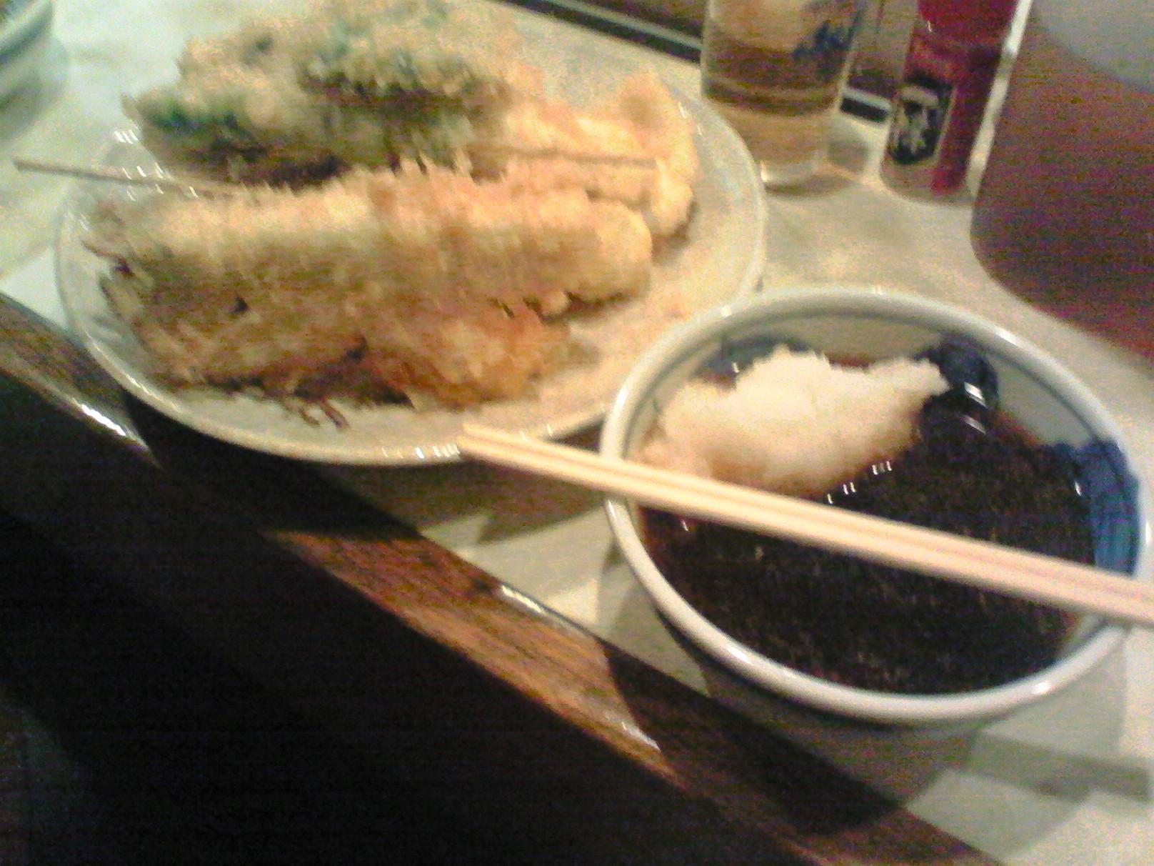 堺魚市場 天ぷら大吉 お目当ての天ぷら